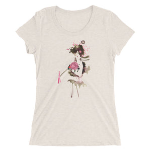 Ladies' short sleeve t-shirt featuring Kim