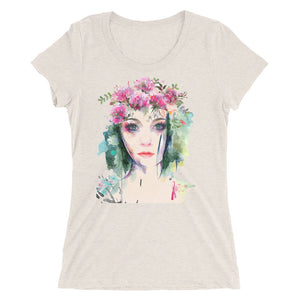 Ladies' short sleeve t-shirt featuring Emma