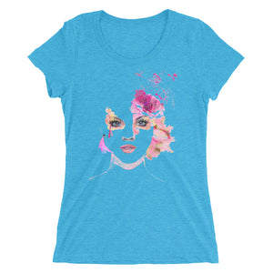 Ladies' short sleeve t-shirt featuring Alexis
