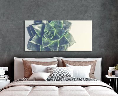 Nature Wall Art: Single Plant Close Up (Wood Frame Ready To Hang)