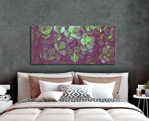 Nature Wall Art: Foliage Texture (Wood Frame Ready To Hang)