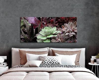 Plant Wall Art: Wild Plants (Wood Frame Ready To Hang)