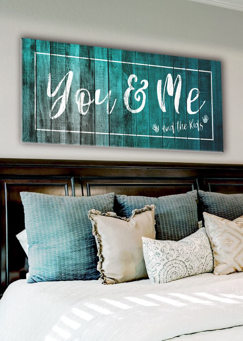 Family Wall Art: You Me And The Kids