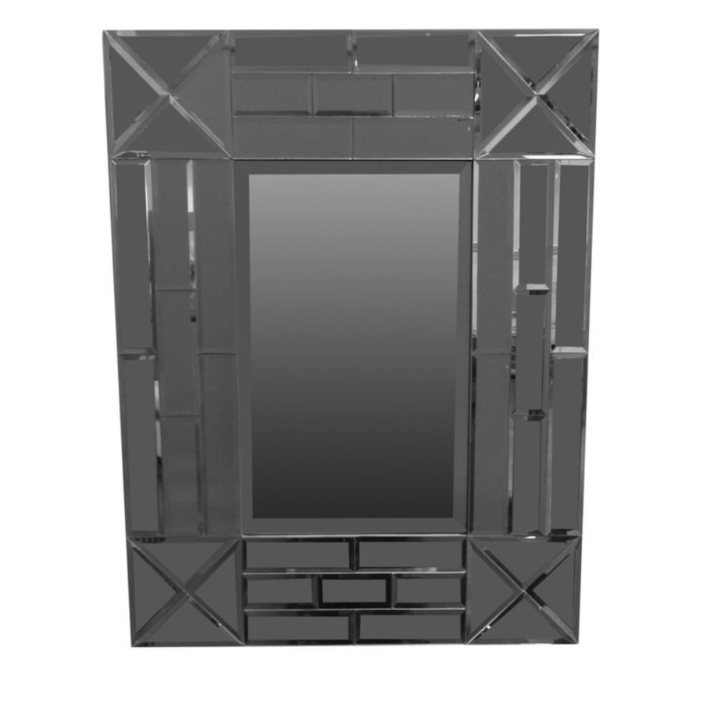 Mirror: Exquisite Rectangular Wooden Framed Mirror