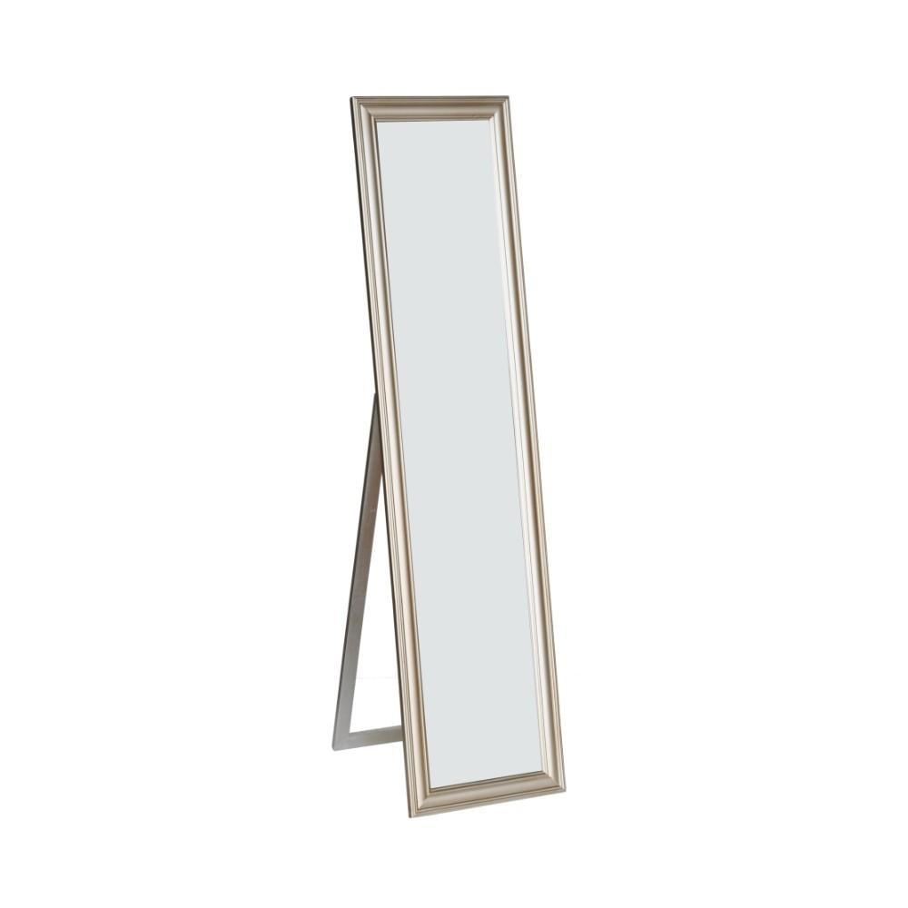 Mirror: Elisabetta Full Length Standing Mirror With Decorative Design