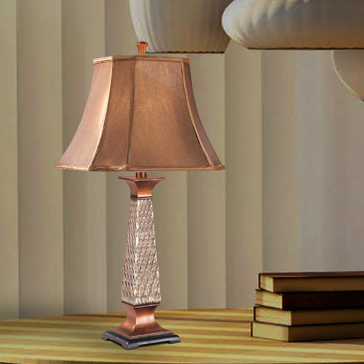Lamps: Stylish Resin Table Lamp Set Of 2