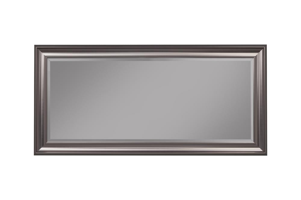 Mirror: Full Length Leaner Mirror With A Rectangular Polystyrene Frame