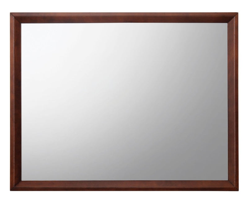 Mirror: Rectangular Shape Wooden Frame With Mirror Encasing
