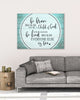 Image of Christian Wall Art: Be Brave because you're a Child of God (Wood Frame Ready To Hang)