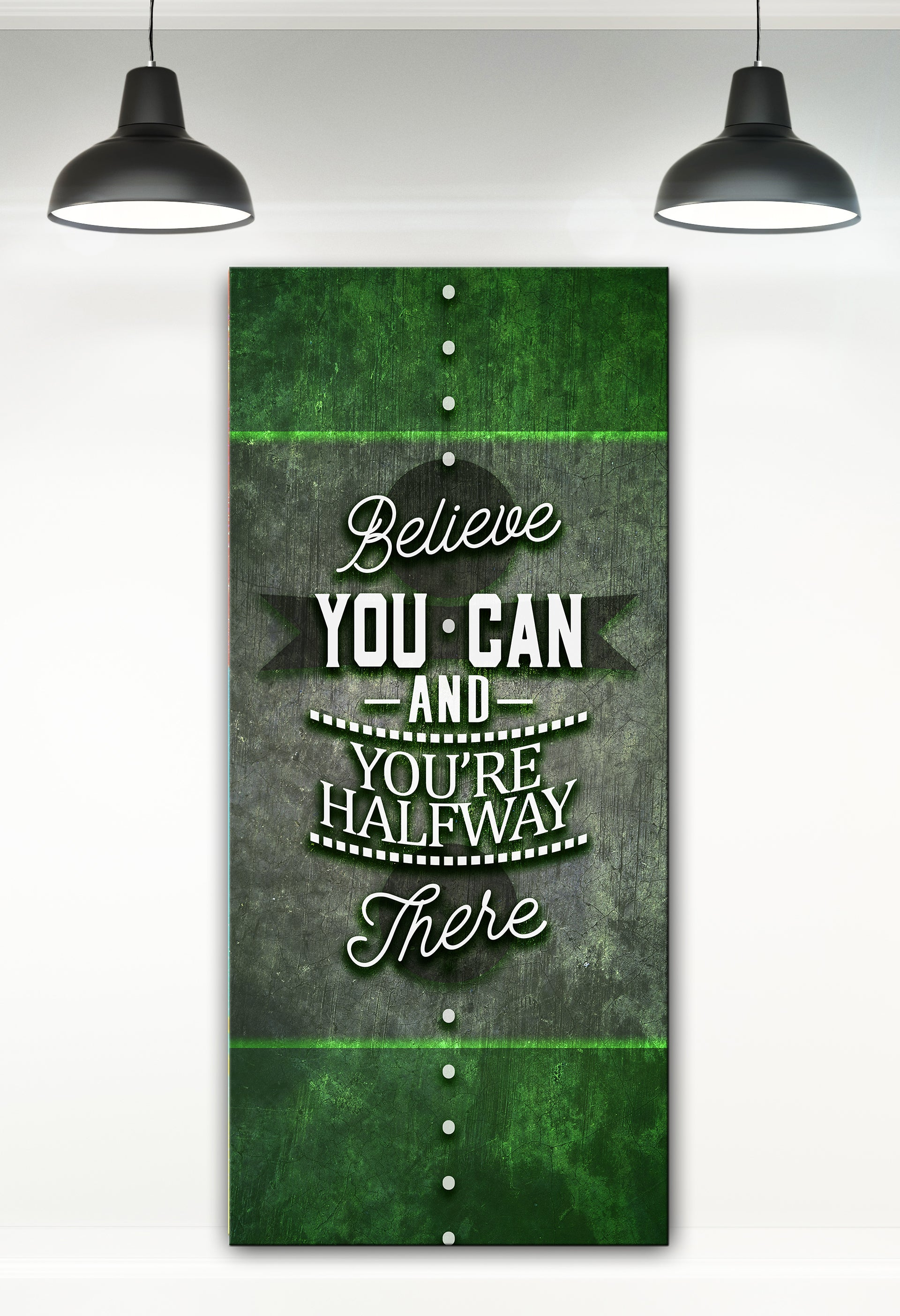 Powerful Women Wall Art: Believe You Can (Wood Frame Ready To Hang)