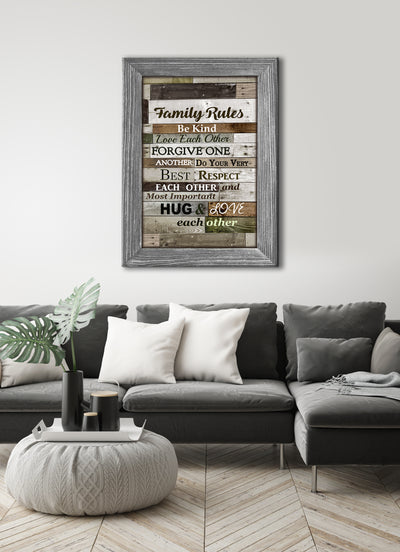 Home Decor Wall Art: Sweet Family Saying Canvas 50% Sale! FREE USA SHIPPING TODAY!