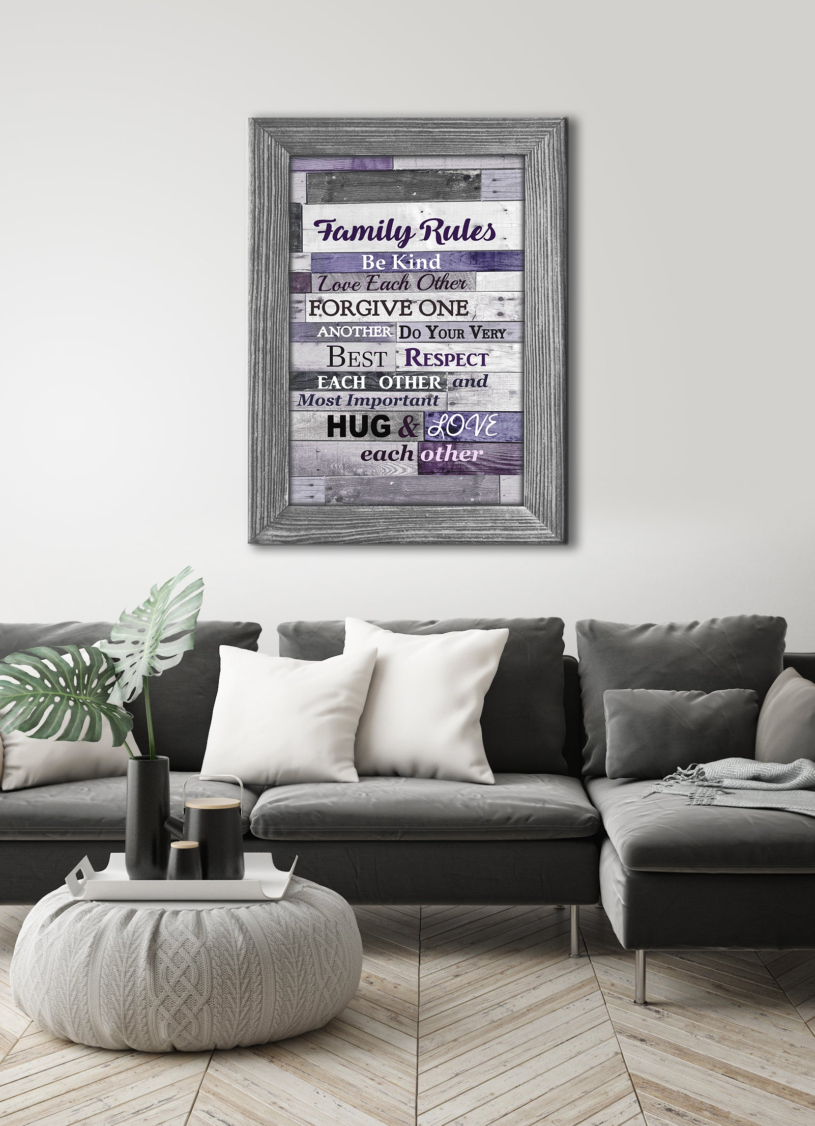 Home Wall Art: Sweet Family Saying Canvas 50% Sale! FREE USA SHIPPING TODAY!