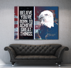 Business Wall Art: Freedom Eagle Limited Edition (Wood Frame Ready To Hang)