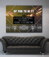 Business Wall Art: Opportunity Quotes (Wood Frame Ready To Hang)
