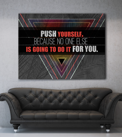Business Wall Art: Do It For You Wall Art (Wood Frame Ready To Hang)