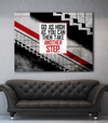 Business Wall Art: One Step Further Wall Art (Wood Frame Ready To Hang)