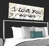 Bedroom Wall Art: Love And Naps Luxe Art (Wood Frame Ready To Hang)
