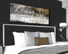 Image of Bedroom Decor Wall Art: Loving You A Lifetime