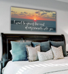 Bedroom Wall Art: Sunrise Large Wall Art 2 Sizes Available (Wood Frame Ready To Hang)