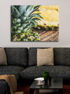 Pineapple Wall Art: Sliced Pineapple (Wood Frame Ready To Hang)