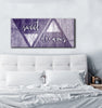 Image of Bedroom Decor Wall Art: Sweet Dreams Large Wall Art 2 Sizes Available  (Wood Frame Ready To Hang)