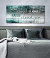 Couples Wall Art: The Moment I Loved You (Wood Frame Ready To Hang)