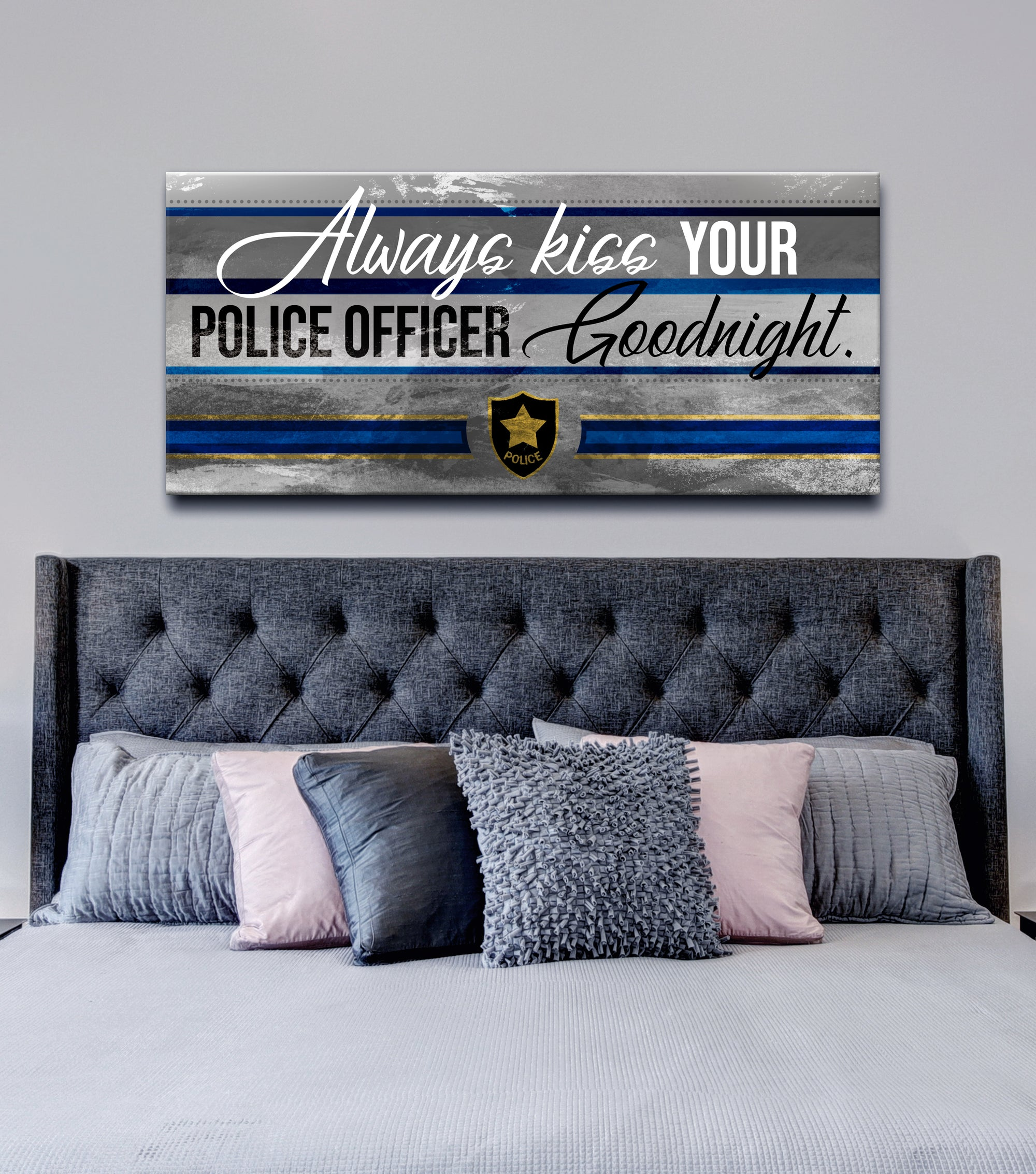 Police Officer Wall Art