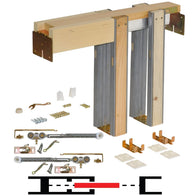 Sliding system Johnson Hardware 1500SC Series Pocket Door Frame