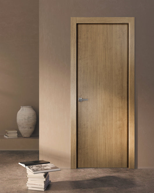 Sartodoors Planum 0010 Interior Door Smoky Walnut No Pre Drilled