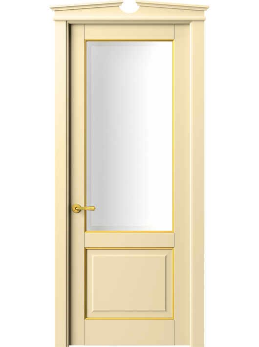 Sarto Toscana Plano 6302 Interior Door Beech Ivory With Gold