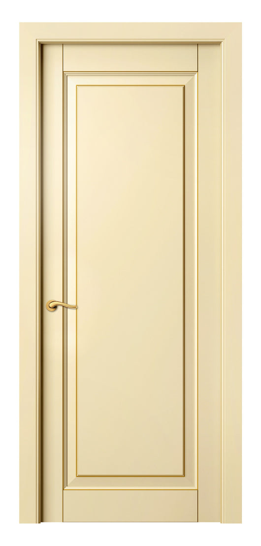 Sarto Lignum 0701 Interior Door Ivory Beech Gold Patina