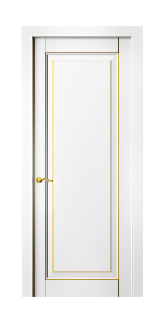 Sarto Lignum 0701 Interior Door Snow White Beech Gold Patina