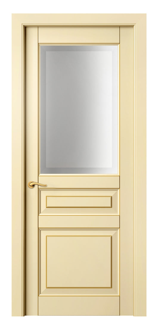 Sarto Lignum 0710 Interior Door Ivory Beech Gold Patina