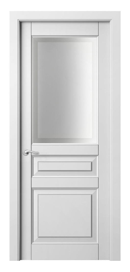 Sarto Lignum 0710 Interior Door Snow White Beech Silver Patina