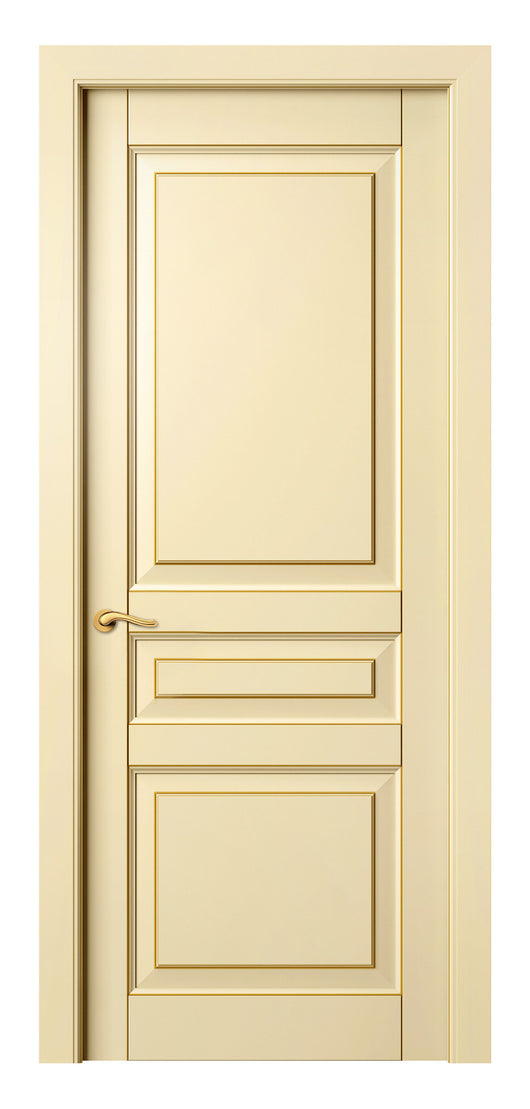 Sarto Lignum 0711 Interior Door Ivory Beech Gold Patina