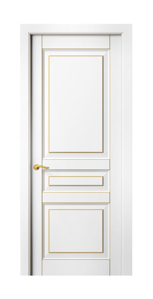 Sarto Lignum 0711 Interior Door Snow White Beech Gold Patina