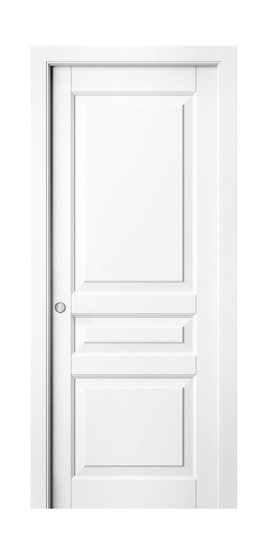 Sarto Lignum 0711 Interior Pocket Door Snow White Beech
