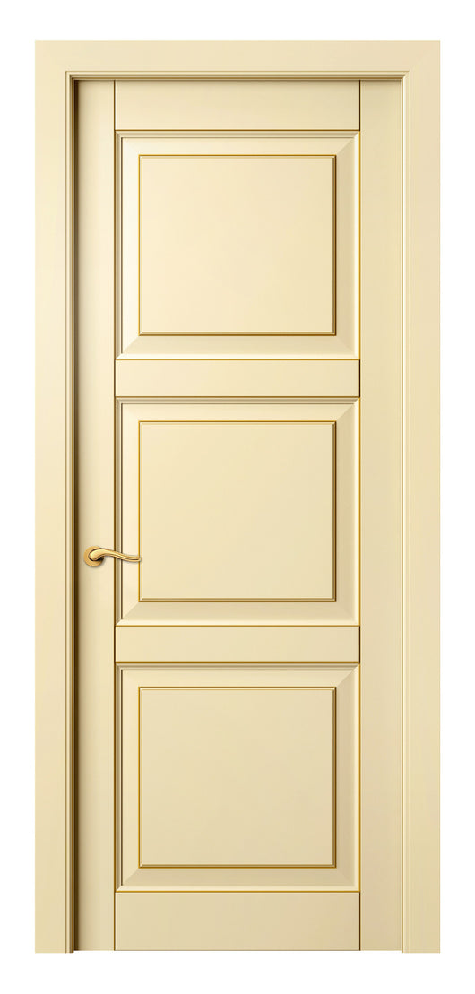 Sarto Lignum 0731 Interior Door Ivory Beech Gold Patina