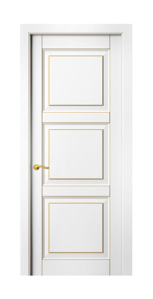Sarto Lignum 0731 Interior Door Snow White Beech Gold Patina