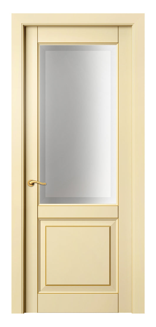 Sarto Lignum 0740 Interior Door Ivory Beech Gold Patina