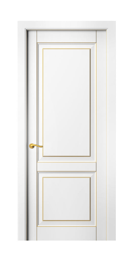 Sarto Lignum 0741 Interior Door Snow White Beech Gold Patina