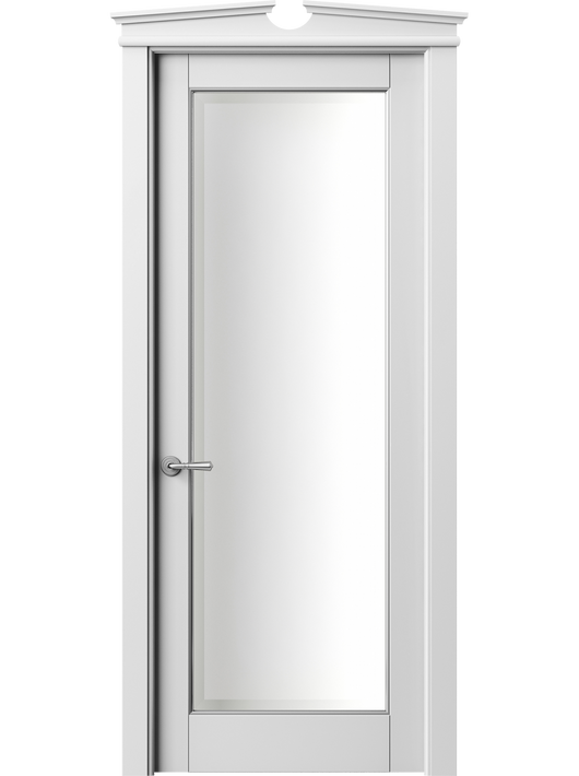 Sarto Toscana Plano 6300 Interior Door Snow-White Beech With Silver