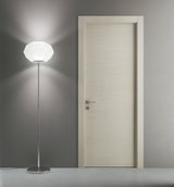 SARTODOORS Planum 0010 Interior Modern Flush Solid Wood Door Milk Ash NO Pre-drilled