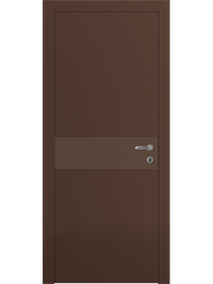 Sarto Linea 8041 Interior Door Matte Chocolate