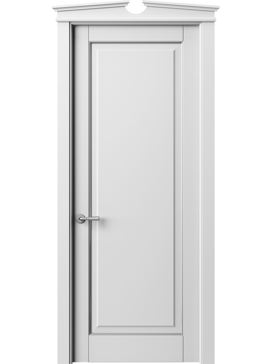 Sarto Toscana Plano 6301 Interior Door Snow-White Beech With Silver