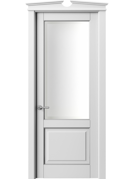 Sarto Toscana Plano 6302 Interior Door Snow-White Beech With Silver