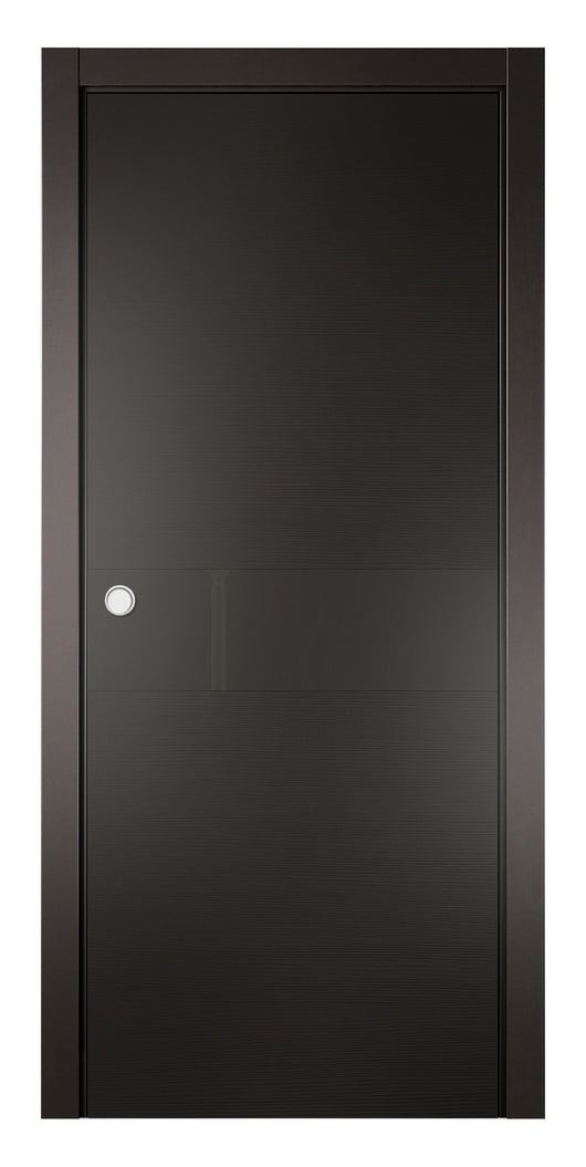 Sarto Avant 4031 Interior Pocket Door Taeda Anthracite Lacobel Glass