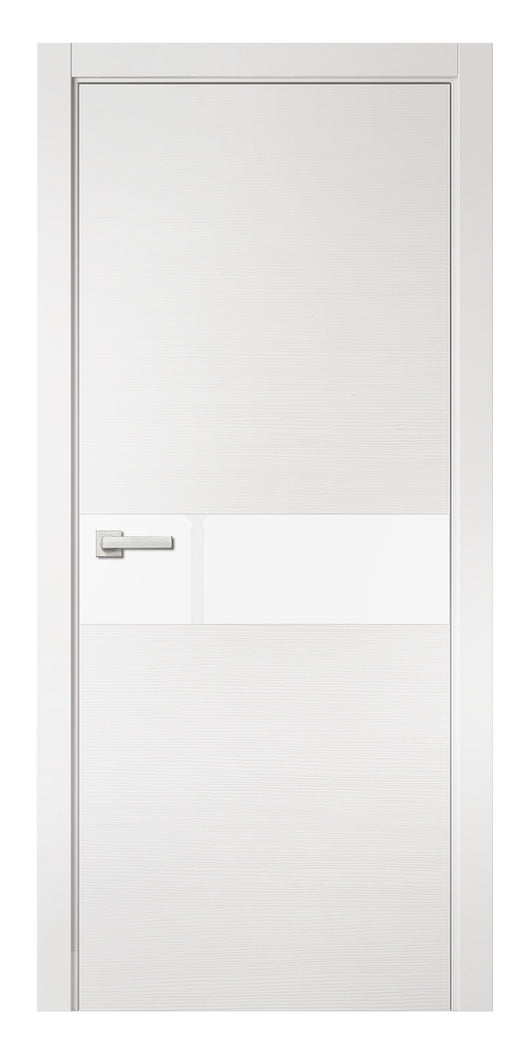 Sarto Avant 4031 Interior Door White Taeda Lacobel Glass