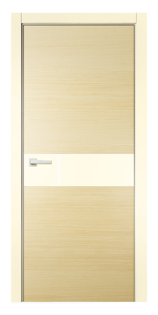 Sarto Avant 4031 Interior Door Vanilla Taeda Lacobel Glass