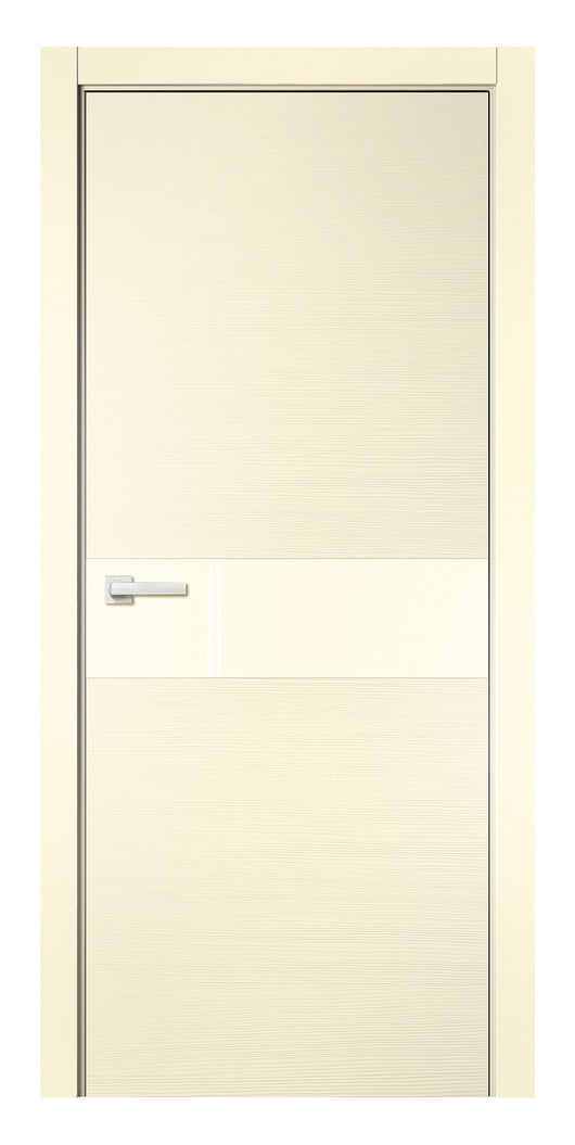 Sarto Avant 4031 Interior Door Taeda Ivory Lacobel Glass